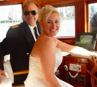 Bride on a Yacht