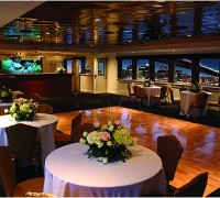 Private Dinner Table on a Yacht