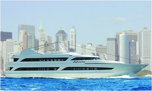 147 Foot Charter Yacht - The Atlantis