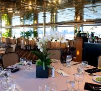 special event dinner aboard The Aqua Azul