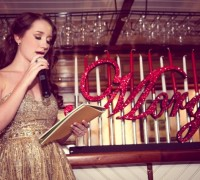 Girl in Gold Dress giving Speech at a Sweet 16 Yacht Party