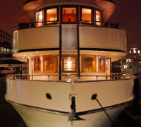 Front View of Eastern Star Yacht